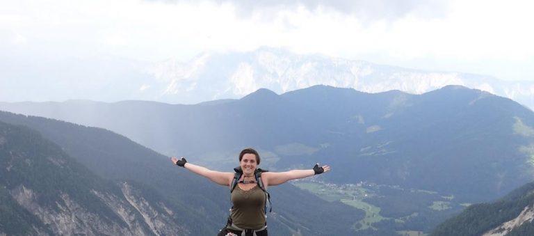hike in de bergen