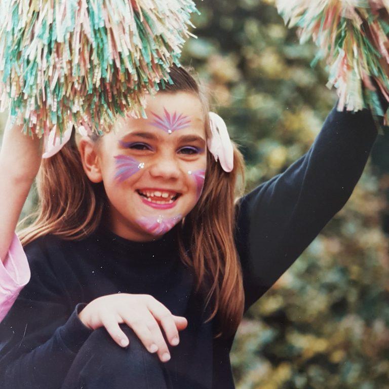 creatieve foto uit mijn kindertijd behorende bij bericht studiekeuze
