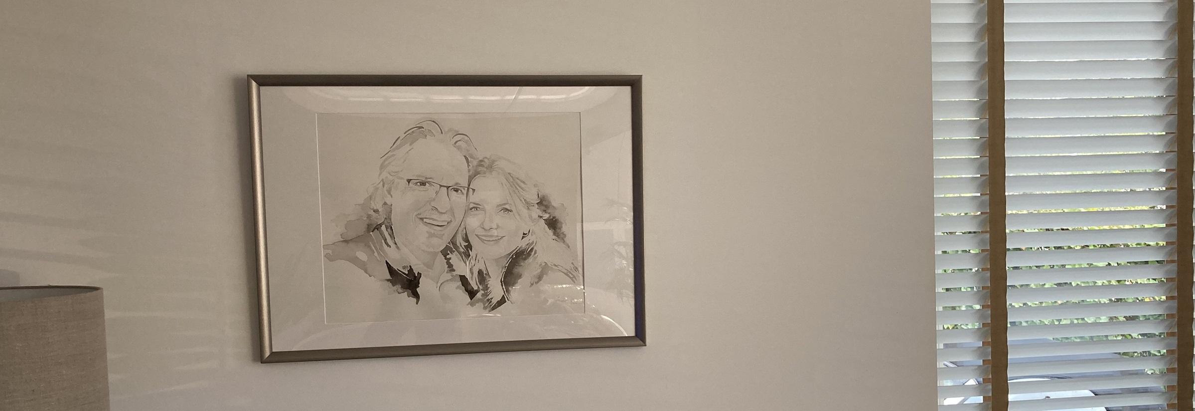 foto portret Frans en Lesya behorende bij recensie voor MadameRuiz