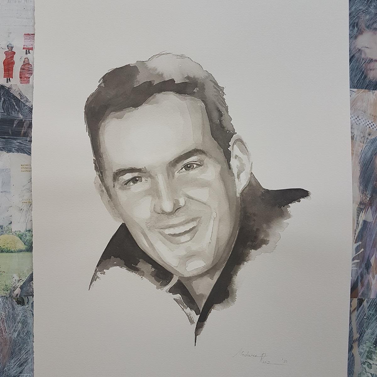herinneringsportret portret kunst inkt portret inktportret geffen vtwonen kunstenares schilderij 2